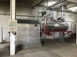 Caldeira a vapor (Projeto, vendas e montagem)