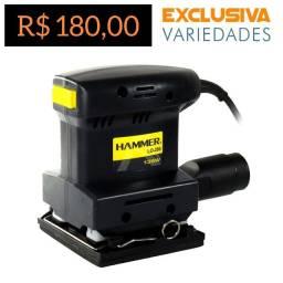 Lixadeira Orbital 135W Hammer + Entrega Grátis