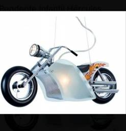 Luminária Pendente Moto Harley Davidson