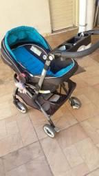 Carrinho e bebê conforto e base Graco R$ 480