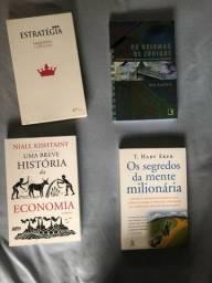Livros sobre Economia e Investimentos
