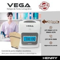 Relógio de Ponto Cartográfico - Henry Vega - WhatsApp 27- *