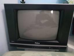 Tv  Philco14 tela plana tubo com controle remoto