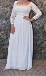 Vestido para casamento civil noivado ou ensaio pré-wedding envio para todo Brasil