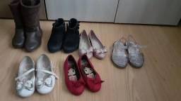 Lotinho de calçados para meninas 24