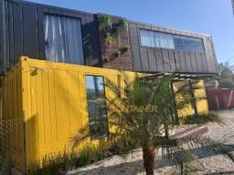 Casa Container Pronta Semi-Mobiliada