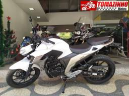 Yamaha Fazer 250 branca 2018 troco por moto