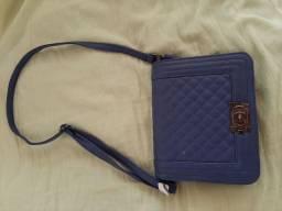 Linda bolsa azul