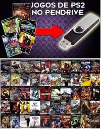 Pendrive + gmes de playstation 2