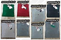 Nove Camisas Almofadado No Atacado.
