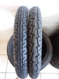 Par de pneus para cg, ybr, todos os modelos