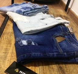 Bermuda jeans promoção