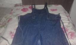 Título do anúncio: Macacão jeans gestante
