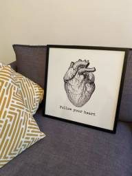 Painel/quadro coração
