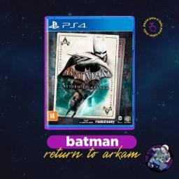 Jogo PS4 - Batman Return To Arkham