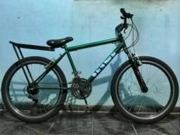Bicicleta aro 24 com garupa