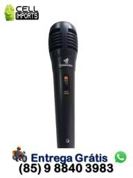Título do anúncio: Microfone Com Fio Dinâmico M002/01 Entrega Grátis