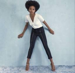 Título do anúncio: Calça jeans cigarrete marca AH