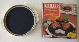 Lote pra microondas- Grill Griller Quick e Forma pra bolo/pudim
