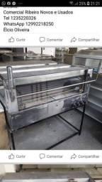 Forno Industrial de Lastro Promaq todo em Inox com 4 Infravermelho