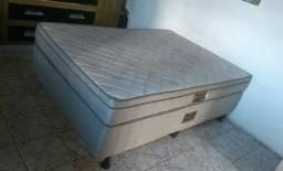 Cama Box de casal reconflex de molas Usada