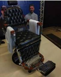 Título do anúncio: Cadeira  para barbearia retro novo