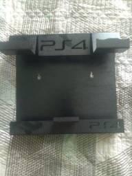 Suporte  de parede PS4  em metal