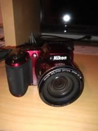 Camera coolpix 810 nikon com mochila