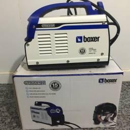 Máquina de solda inverter Boxer Touch 150 BV