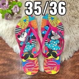Vende-se sandálias Havaianas