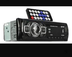 Som automotivo Knup KP-C22BH com USB, bluetooth e leitor de cartão SD<br>