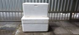 Caixa termica 120 litros isopor
