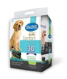 Tapete Higiênico Confort Bamboo da Chalesco  7 unidades