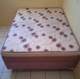 Título do anúncio: Vendo cama box casal, semi nova