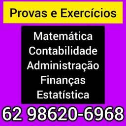 Título do anúncio: Professora de Matemática, Contabilidade, Administração, Finanças, Estatística