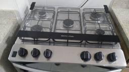 Fogão De Piso Brastemp Bfs5vcr 5 Queimadores Inox