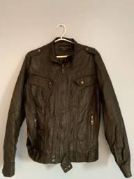 Título do anúncio: Jaqueta de couro preta