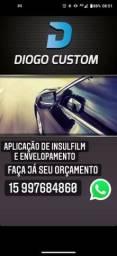 Título do anúncio: INSULFILM E ENVELOPAMENTO
