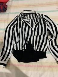 Jaqueta camiseta com boro