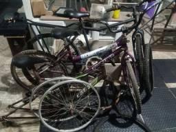 Título do anúncio: Vendo três bicicletas para conserto
