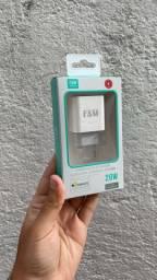 Carregador USB C e A FAM de 20W