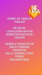 CASA COM EDÍCULA em PIRAJUÍ -SP