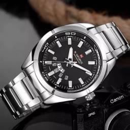 Título do anúncio: Naviforce, Autêntico Relógio Quartz Masculino