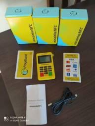 Máquina de cartão Minizinha Nfc PagSeguro Bluetooth