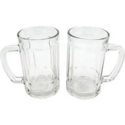 Título do anúncio: Canecas  vidro 400 ml cada