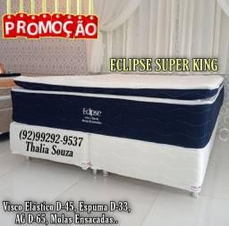 Título do anúncio: Cama Queen Visco Elástico D45. D33 cama Super Confortável.. Frete grátis;; !!