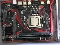 Título do anúncio: Kit Intel placa lga 1155 + 8gb de ram HDMI