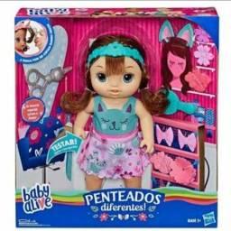 "Boneca Baby Alive Penteados Diferentes ""Corta Cabelo"" Sons e Frases 100% Original Lacrado!"