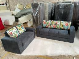 Sofa / Conjunto de sofa top loja desapega