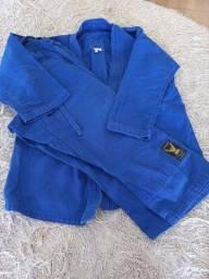 Título do anúncio: Kimono Cor azul, tamanho 10, Usado